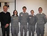 Bei der Rot-Kreuz-Ortsstelle in Au konnten verdiente Mitglieder ausgezeichnet werden.