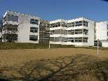 Bild: Die neue Vorarlberger Mittelschule im Schulzentrum Oberau in Gisingen.