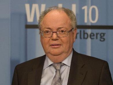 Bürgermeister Rümmele erhielt 5901 Vorzugsstimmen.