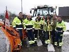 Das Bauhof Team war mit vollem Engagement im Einsatz.