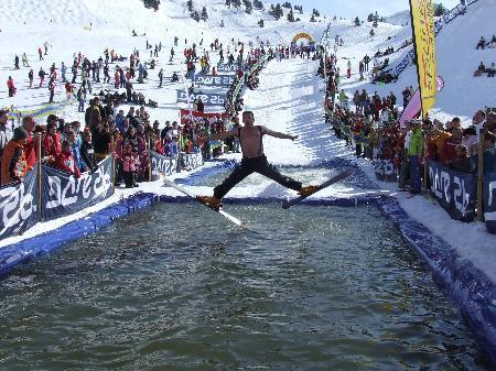 """Der """"waterslide-contest"""" ist jedes Jahr ein Highlight."""