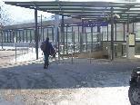Der Bereicht bei der Bahnhofsunterführung soll im Winter nicht immer sorgfältig vom Schnee geräumt worden sein.