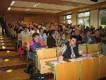 Der Schäfertag 2010 ließ den Hörsaal im BSBZ Hohenems fast platzen.