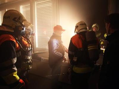 Die Feuerwehr ist für den Ernstfall bestens gerüstet.