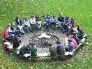 """Die Firmgruppe """"ring of fire"""" lädt zum ersten Göfner Osterfrühstück."""