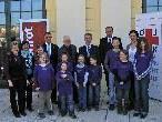 Die Kinder des HPSZ-Vandans fühlten sich mit Bundespräsident Fischer wohl.