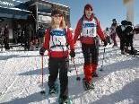 Die Schneeschuhwanderer starteten bei der Bergstation.