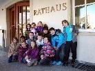 Die Schüler der 3a der VS Dornbirn Markt hatten einen Termin beim Bürgermeister.