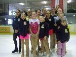 Die Sieger der Eiskunstlauf Titelkämpfe in Dornbirn.