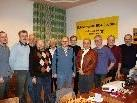Die Teams SV Lochau 1 und 2, von links: Ladner, Planatscher, Mittelberger, Eiler, Gögl, Eiler, Herold, IDonev, Forster, Rigg, Ciric.
