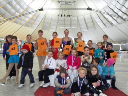 Die Teilnehmer der Vereinsmeisterschaft