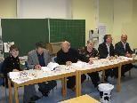 Die Wahlkommission sorgte für einen reibunglosen Ablauf.
