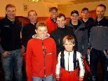 """Die """"siegreichen"""" Skisportler des Sportverein Doren (Norbert Sinz fehlt auf dem Foto)."""