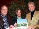 Dietmar Hasenburger, Doris Rinke und Johann Peer.