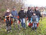 Eine der Wild Turkey Hunters Gruppen