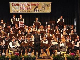 Eisenbahnermusik spielte ein grandioses Konzert.