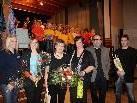 Elke Kohler, Bianca Berkmann, Brigitte Dünser, Petra Rührnschopf, Alfred Dünser und Martin Nowotny, von links.