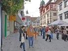 Erweiterte Fußgängerzone