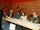 Gut gelaunte Wahlkomission: Albert Burtscher, Susanne Türtscher, Birgit Spar, Anton Burtscher