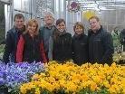 Hatten Grund zur Freude: Erich, Karin, Josef und Kerstin Waibel sowie Julia und Mathias Keel-Waibel.