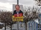 Heftiger Streit um die ÖVP Wahlplakate.