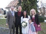 Jasmine Batruel und Kevin Mertnitz haben geheiratet