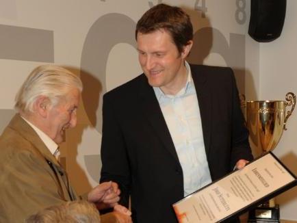 Josef Sutterlüty ist Ehrenmitglied des FC Brauerei Egg