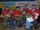 Jürgen Egle, Robert Meusburger, Robert Fröhle, Dietmar Dorn und Philipp Bonadimann wurden herzlich empfangen.