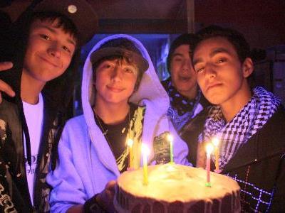 Jugendliche aus dem Montafon feiern den 5. Geburtstag ihres Jugendteffs