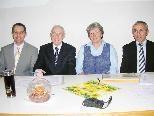 KPV-Vorstand: Winfried Peter, Obmann Dr. Elmar Troy, Renate Märk und Dr. Josef Fussenegger.
