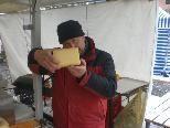 Käsespezialitäten auf dem Markt