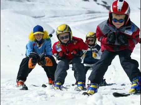 Kids Snow Fun Event im Klostertal