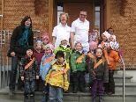 Kindergarten Fraxern besucht die Ordination Dr. Karl-Heinz Grotti