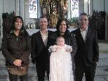 Lina Schneider empfing die Taufe