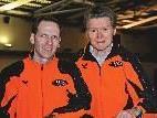 Michael Riedmann und Albert Stoppel - zusammen 116 Jahre und eroberten acht Landesmeistertitel.