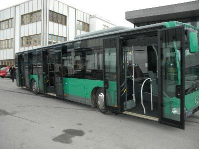 Neue Stadtbusse gibt es für die Stadt Bludenz.