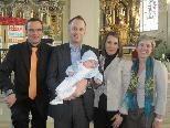 Nico Bilgeri wurde getauft