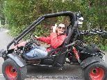Niedriger Benzinverbrauch und Spaßfaktor waren ausschlaggebend für den Kauf eines Buggys.
