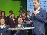 Robert Meusburger  bei der Vereidigung , Offizielle Verabschiedung der Österreichischen Paralympischen Mannschaft