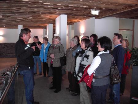 Senioren-Aktiv bei der Besichtigung vom Senioren-Aktivpark
