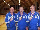 Siegermannschaft Hard 1, l.n.r. ILL Günther, Kovcevic Mate, ILL Dieter