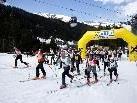 Start der Tour & Climb Trophy neben der Talstation in Gargellen
