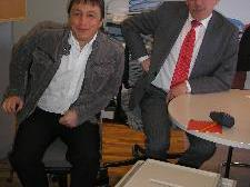 Werner Konzett wird Sebastian Bickel als Bürgermeister beerben.
