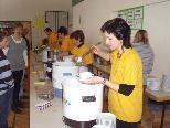 Zahlreiche Besucher folgten der Einladung des Familienverbands zum Suppentag in Au.
