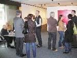 Zahlreiche Besucher nutzten den freien Eintritt beim Tag der offenen Tür im Otten Kunstraum.