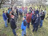 Über 50 Teilnehmer informierten sich in Koblach wie Obstbäume richtig geschnitten werden.