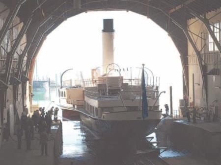 """Am Samstag lädt das """"Hohentwiel""""-Team von 11 bis 17 Uhr zum """"Tag des offenen Dampfers"""" ein."""