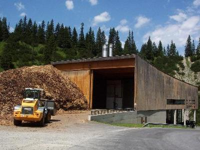 Biomasse- Heizwerk in Lech soll erweitert werden.