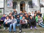 Die 20 Erstklässler besuchten das Jüdische Museum Hohenems und gestalteten Radio Mikwe mit