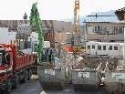 Die Bauarbeiten an der Mittelschule Alberschwende laufen auf Hochtouren.